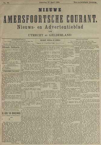 Nieuwe Amersfoortsche Courant 1895-04-27
