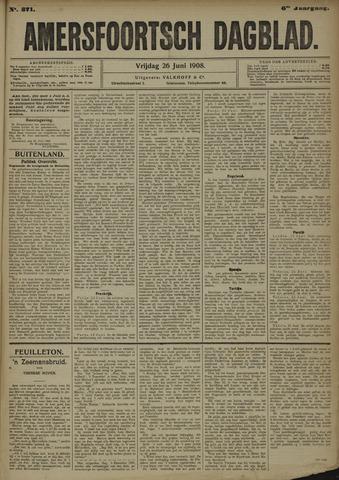 Amersfoortsch Dagblad 1908-06-26