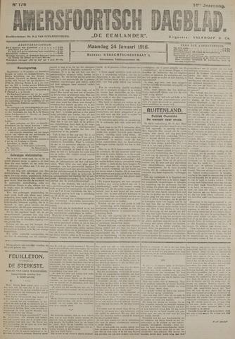 Amersfoortsch Dagblad / De Eemlander 1916-01-24