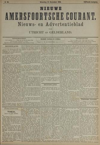 Nieuwe Amersfoortsche Courant 1886-11-24