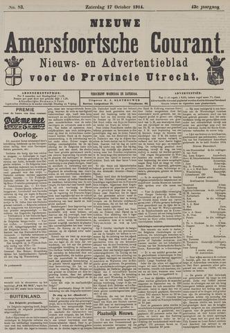 Nieuwe Amersfoortsche Courant 1914-10-17