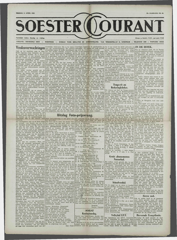 Soester Courant 1958-04-11