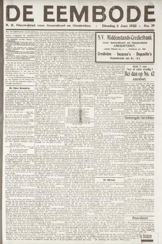 De Eembode 1922-06-06