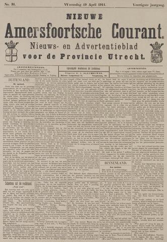 Nieuwe Amersfoortsche Courant 1911-04-19