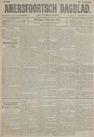 Amersfoortsch Dagblad / De Eemlander 1914-11-03