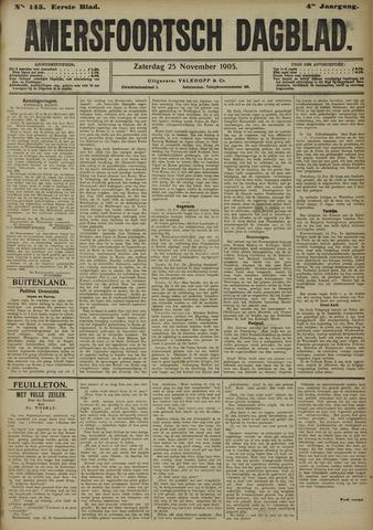 Amersfoortsch Dagblad 1905-11-25