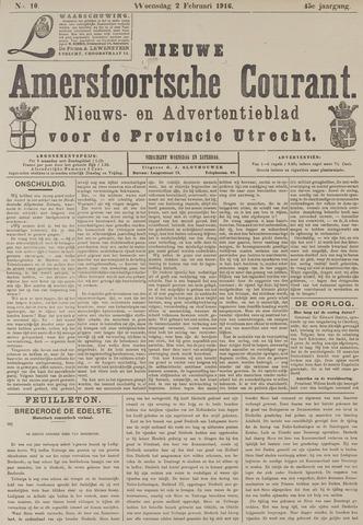 Nieuwe Amersfoortsche Courant 1916-02-02
