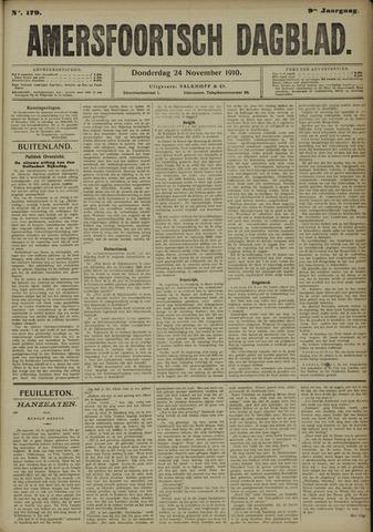 Amersfoortsch Dagblad 1910-11-24