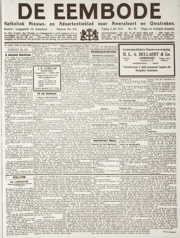 De Eembode 1915-07-02