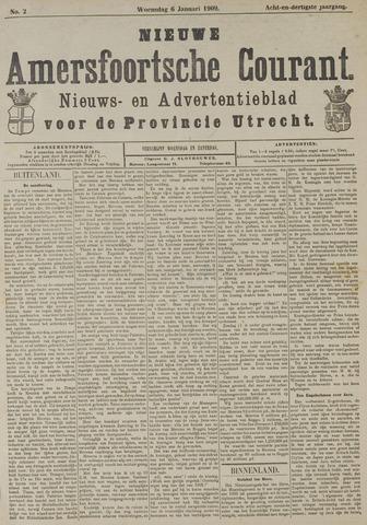 Nieuwe Amersfoortsche Courant 1909-01-06