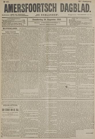 Amersfoortsch Dagblad / De Eemlander 1916-08-24