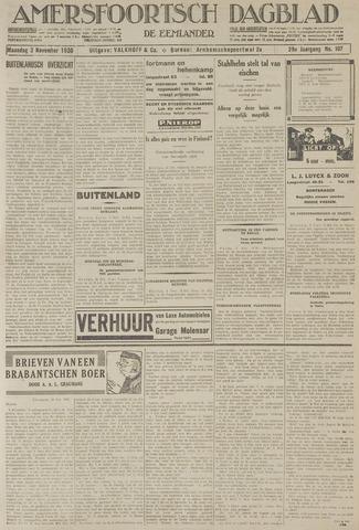 Amersfoortsch Dagblad / De Eemlander 1930-11-03