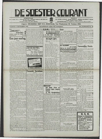 Soester Courant 1940-09-06