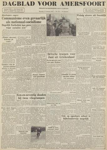 Dagblad voor Amersfoort 1947-02-17