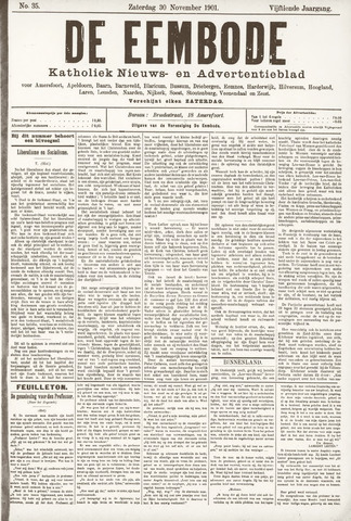 De Eembode 1901-11-30