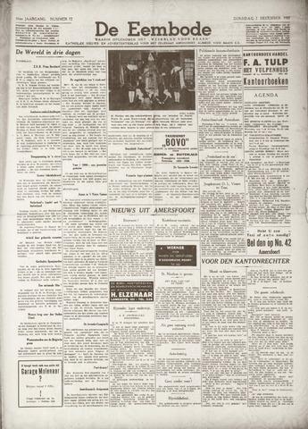 De Eembode 1937-12-07