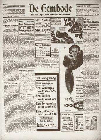 De Eembode 1935-10-25