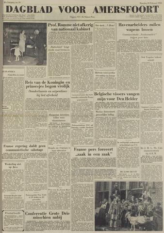 Dagblad voor Amersfoort 1950-02-20