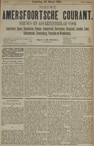 Nieuwe Amersfoortsche Courant 1881-03-26