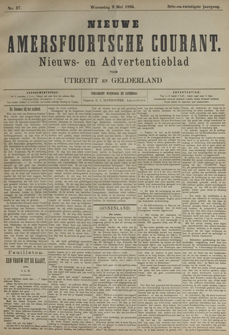 Nieuwe Amersfoortsche Courant 1894-05-09