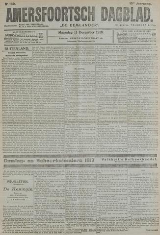 Amersfoortsch Dagblad / De Eemlander 1916-12-11