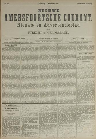 Nieuwe Amersfoortsche Courant 1888-11-17