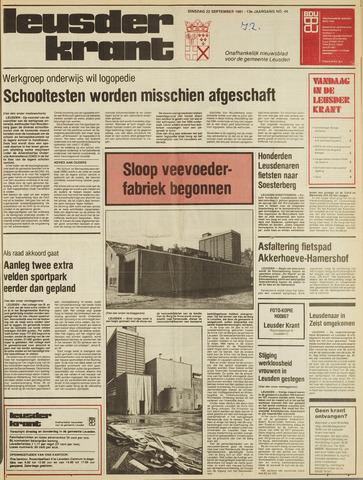 Leusder Krant 1981-09-22