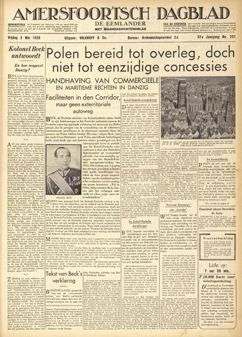 Amersfoortsch Dagblad / De Eemlander 1939-05-05