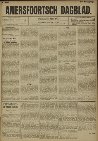 Amersfoortsch Dagblad 1911-04-25