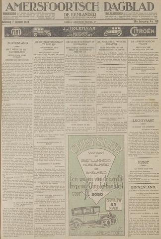 Amersfoortsch Dagblad / De Eemlander 1928-01-07