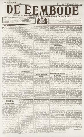 De Eembode 1913-09-02