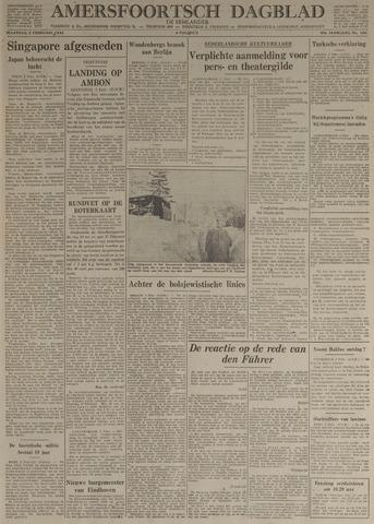 Amersfoortsch Dagblad / De Eemlander 1942-02-02