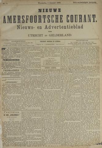 Nieuwe Amersfoortsche Courant 1894-01-03
