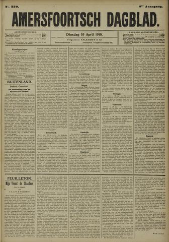 Amersfoortsch Dagblad 1910-04-19