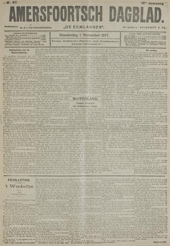 Amersfoortsch Dagblad / De Eemlander 1917-11-01