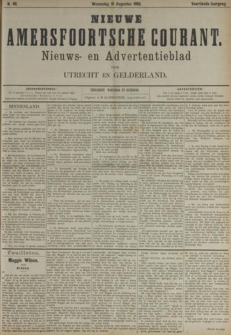 Nieuwe Amersfoortsche Courant 1885-08-19