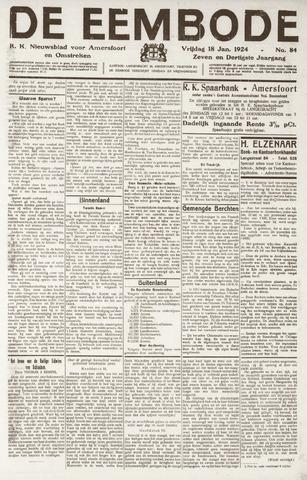 De Eembode 1924-01-18