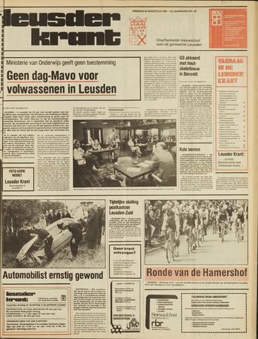 Leusder Krant 1981-08-25