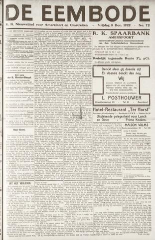 De Eembode 1922-12-08
