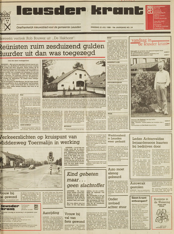 Leusder Krant 1986-07-22
