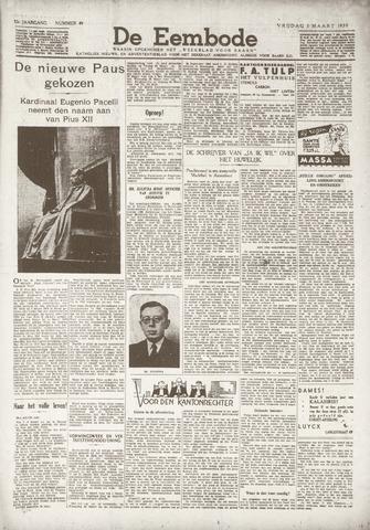 De Eembode 1939-03-03