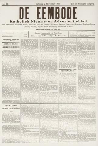 De Eembode 1907-11-02