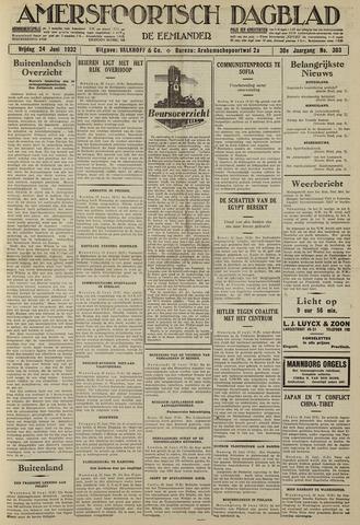 Amersfoortsch Dagblad / De Eemlander 1932-06-24