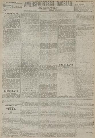 Amersfoortsch Dagblad / De Eemlander 1919-09-23