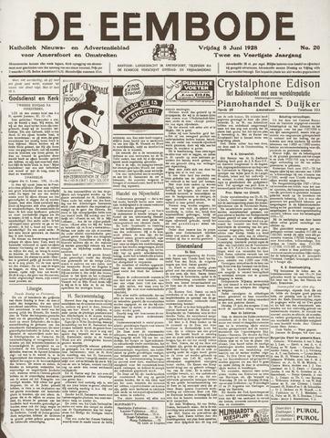 De Eembode 1928-06-08
