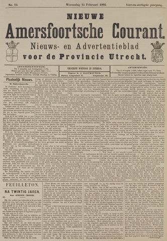 Nieuwe Amersfoortsche Courant 1905-02-15