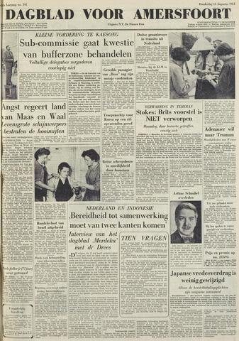 Dagblad voor Amersfoort 1951-08-16