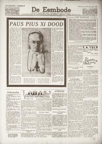 De Eembode 1939-02-17