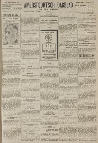 Amersfoortsch Dagblad / De Eemlander 1927-02-02