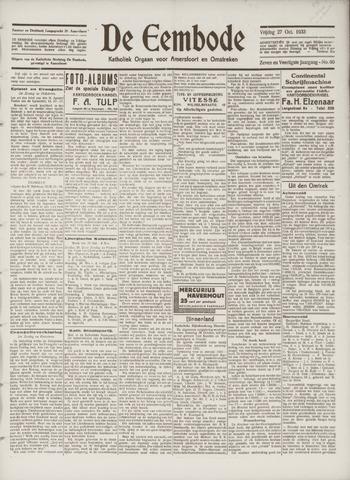 De Eembode 1933-10-27
